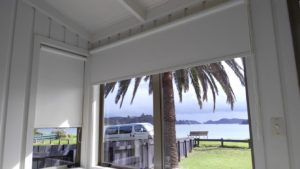 Blinds at the beach