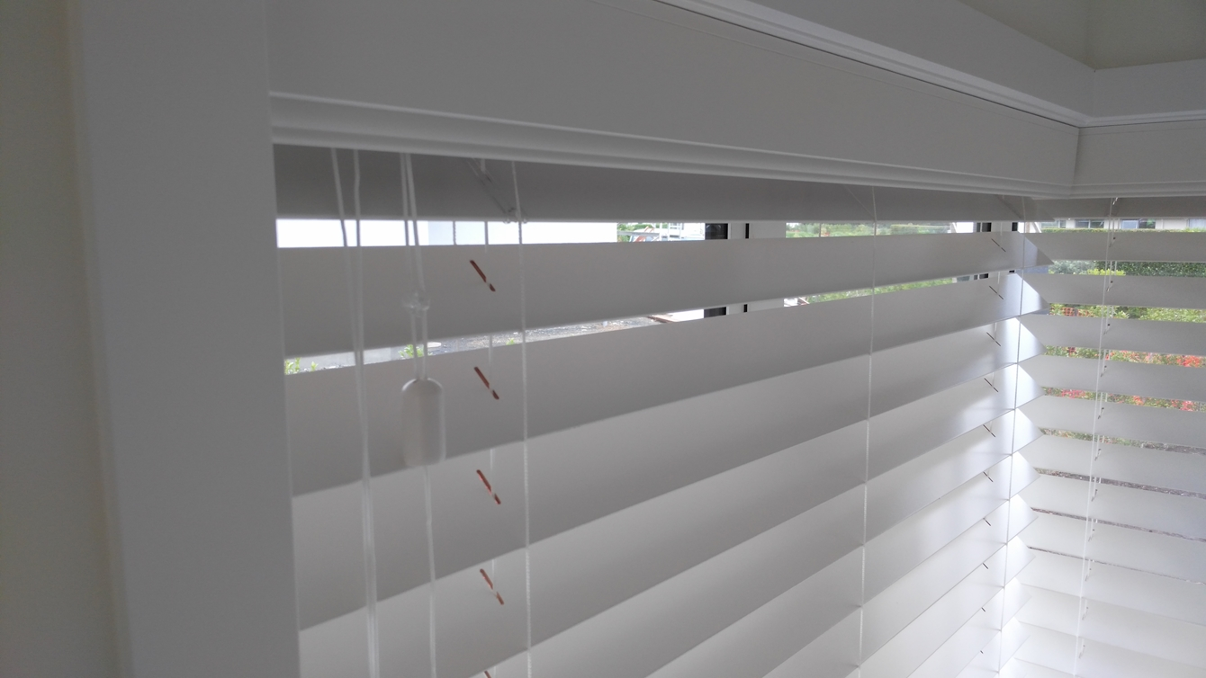Kerikeri Wooden blinds