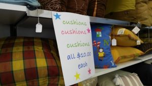 $10 only cushions Kerikeri