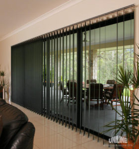 vertical blinds Dial a Curtain